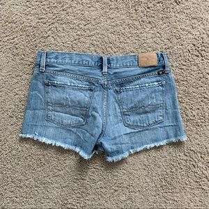 Lucky Brand Shorts - Lucky Brand Distressed Denim Cut Off Shorts